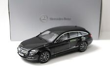 1:18 Norev Mercedes CLS Shooting Brake Black Dealer New chez Premium-modelcars