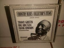 Country Blues Collector's Items 1930-1941 Austria Import CD Document Records