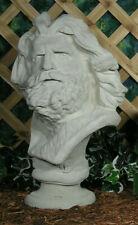 Moses Roman Greek Mythology God Zeus Warrior Bust Latex Fiberglass Mold Concrete
