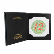 Brand New Ishihara Test Book 24 Plate For Color Blindness Ophthalmology