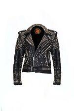 Hazmat Sentinet studded leather jacket size medium 38/40 new