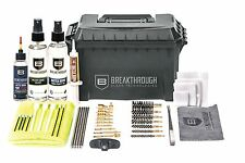 Breakthrough Clean Universal Ammo Can Cleaning Kit w/ HP Pro Oil (22cal-12ga)