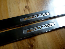 Mercedes Benz SLK R171 2 Pc  Illuminated Sill Plates MB,AMG,BRABUS