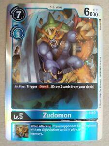 Digimon TCG - Special Booster Ver 1.0 - Zudomon - Super Rare - BT1-041