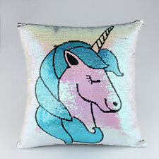 Mermaid Sequin Unicorn Cushion Pillow Glitter Pillow Case Home Decoration Pillow