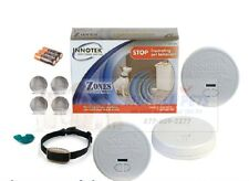 PetSafe Pawz Away ZND-1200 Wireless Indoor 3 Zone Barrier Pet Fence 1 Collar