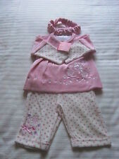 3-piece Girls Velour Set by Cutey Couture