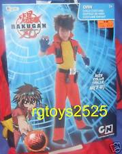 BAKUGAN DAN CLASSIC Child Costume Size 7-8 New Cartoon Network