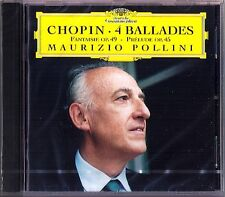 Maurizio Pollini: Chopin Four Ballades Prelude op.45 fantaisie op.49 DG CD 1999