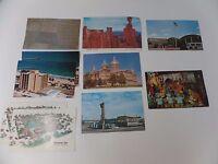 Lot of 10 Vintage Postcards Disneyland Motels National Park 1950's