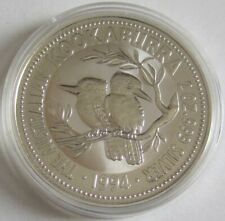 Australia 2 Dollars 1994 Kookaburra 2 Oz Silver