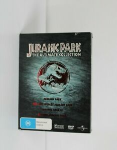 Jurassic Park The Ultimate Collection Box Set Of 4 Movies Region 2&4