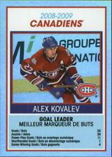 Cartes de hockey sur glace montreal canadiens O-PEE-CHEE