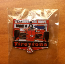 NEW 2018 102nd INDY 500 FIRESTONE COLLECTIBLE INDY CAR LAPEL PIN