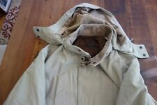 Corneliani ID Light Tan Insulated Parka Overcoat Coat Jacket Italy IT 56/46 XL