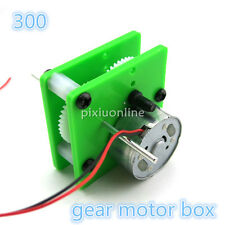 J027 300 Gear Motor Suit Gear Reducer fit with Solar Energy Power Supply DIY