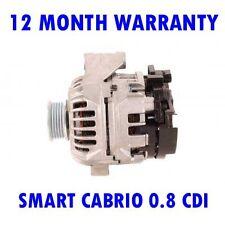 Smart Cabrio 0.8 Cdi 2001 2002 2003 2004 Alternador Remanufacturado