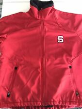 COLUMBIA NC State Wolfpack Softshell Jacket - Red Men's Large