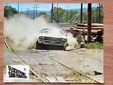 VANISHING POINT - Mopar Dodge Challenger R/T - German 1971 lobby card #3