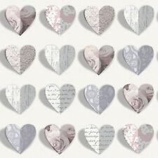 Arthouse Opera Heart Wallpaper Olivia Blush 669701 3D Effect