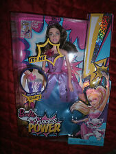 BARBIE IN PRINCESS POWER SOUNDS + LIGHTS CORINNE