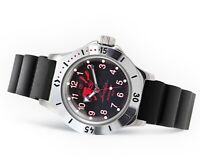 WATCH Men's VOSTOK AMPHIBIAN AUTO DIVER  # 120657 NEW