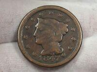 1847 Large Cent.  #40
