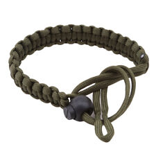 Military Green Hand Woven Camera Bracelet Drop The Wrist Band Straps Shan