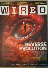 WIRED MAGAZINE REVERSE EVOLUTION OCT 2011