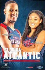 2017-18 Florida Atlantic Owls - Men's & Women's College Basketball Game Program