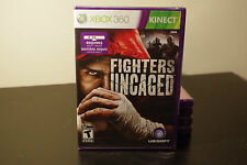 Fighters Uncaged (Microsoft Xbox 360, 2010) New / Factory Sealed