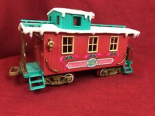 New Bright Holiday Express 181 Logger Bear Sounds and Light Caboose Only