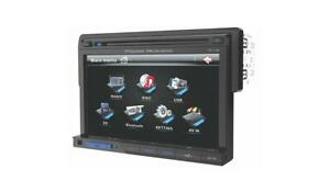 """New Power Acoustik PD-710B DVD/CD/MP3 Player 7"""" LCD Bluetooth Front USB SD Card"""