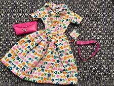 Vintage Barbie LUNCHTIME~LEARNS TO COOK #1634/1673 BELT-PURSE~Dress~Potholder