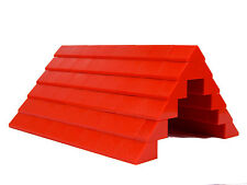 LEGO ROOF 6x12x16 # RED # 100 pieces Slopes Tiles 1x2 2x2 # BRAND NEW # house