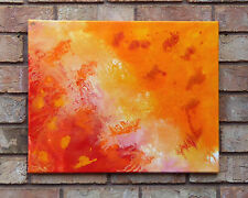 """Latin Love"" - Original Abstract Painting * GlowinGlass * 16"" x 20"""