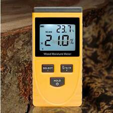 Digital Moisture Meter Non-Invasive Inductive Wood Moisture Tester Water Content