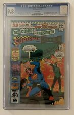 DC Comics Presents #26 CGC 9.8 WHITE Pages 1st App New Teen Titans