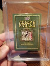 2020 Goodwin Champions Aesop's Fables The Hare And The Tortoise Sketch 1/1