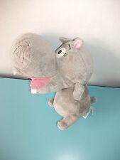 Peluche Madagascar Gloria Hippopotame 22cm Big headz plush Dreamworks