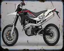 Husqvarna Sm 630 10 1 A4 Metal Sign Motorbike Vintage Aged