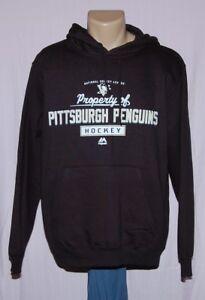 Pittsburgh Penguins Property Of Hoodie Sweatshirt Black - NHL Majestic