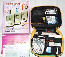 EasyTouch GCU Glucose Cholesterol Uric Acid Blood Monitoring System +1box Lancet