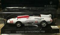 "DIE CAST "" MASERATI 420 M ELDORADO - 1958 "" MASERATI COLLECTION SCALA 1/43"