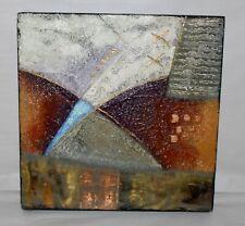 JOY BROE Original Mixed Media Painting ABSTRACT IV Framed LOOK GALLERY