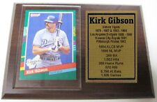 Los Angeles Dodgers Kirk Gibson Donruss Baseball Card Plaque