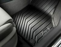 Genuine Audi A3 2013>on Front & Rear Rubber Waterproof Mats - 8V2061501041 RHD