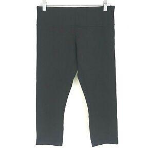 LULULEMON - WOMEN'S SIZE 8 - BLACK YOGA FITNESS CAPSRI'S/PANTS