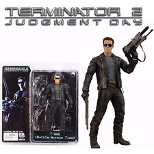 NECA Terminator 2 Judgment Day T-800 Battle Across Time PVC Action Figurines Toy