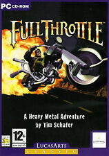 Full Throttle, Lucas Arts PC game, new and factory sealed